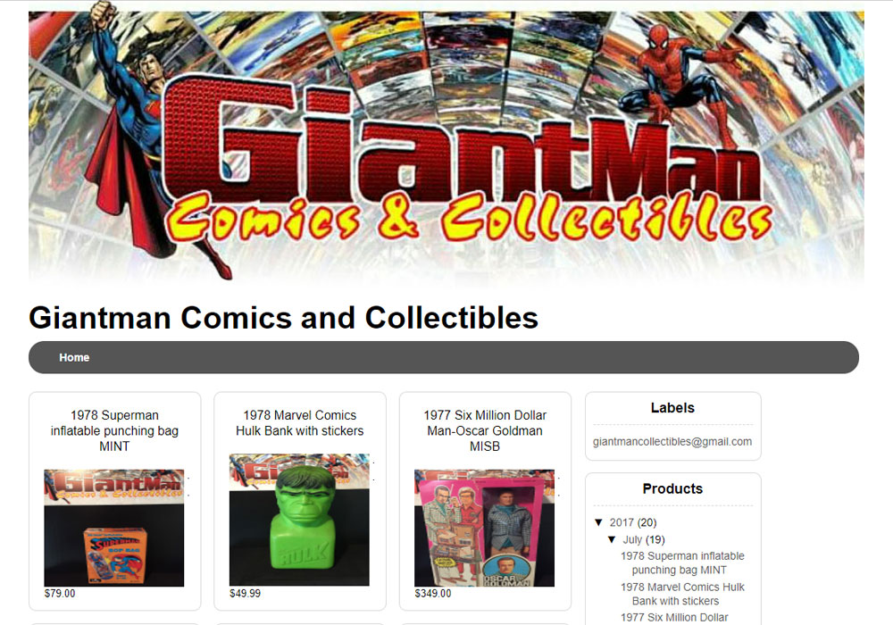 GiantMan Comics and Collectibles