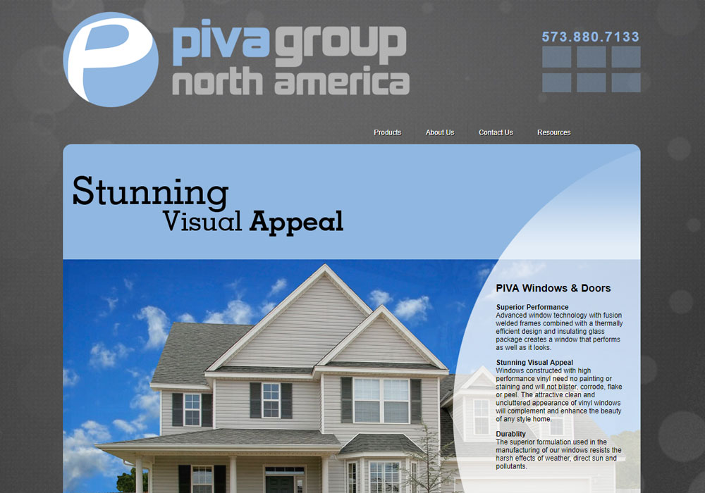 PIVA Windows North America